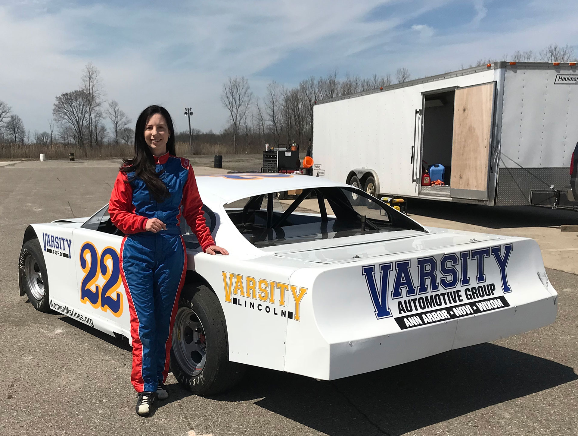Clarity Racing a motorsports team owned and operated by Clarity Patton